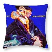 Novus Ordo Marinus Throw Pillow