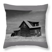 Now An Old Stand For Tractor Tires Throw Pillow