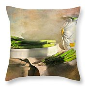 Every Now And Then Throw Pillow by Diana Angstadt