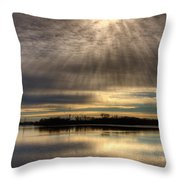 Now I Know Where Eagles Come From Throw Pillow