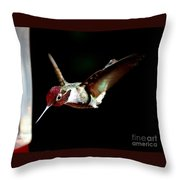 Now I'm Hungry Throw Pillow