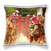 Now Thats A Pickup Man Throw Pillow