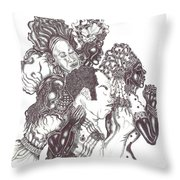 Now We All Pray Throw Pillow