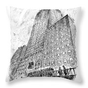 Now You Tell Us You Don't Like The Pattern! Throw Pillow