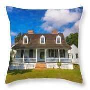 Nps Historic Site Throw Pillow