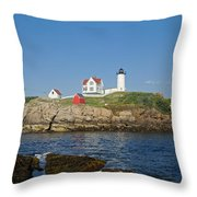 Nubble In The Day 20x30 Throw Pillow