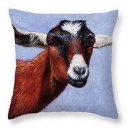 Nubian Red Throw Pillow