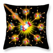 Nuclear Fission Throw Pillow