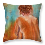 Nude 3 Throw Pillow