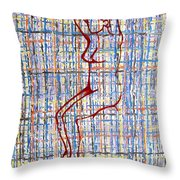 Nude 15 Throw Pillow by Patrick J Murphy