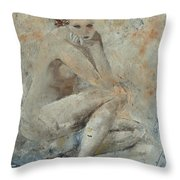 Nude 45314051 Throw Pillow