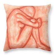 Nude 8 Throw Pillow by Patrick J Murphy