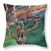 Nude In Nature Throw Pillow