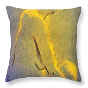 Nude Iv Throw Pillow