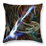 Nude Stretch 0724 Throw Pillow