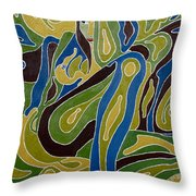 Nude3 Throw Pillow