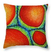 Number 5 Throw Pillow