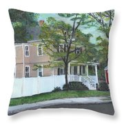 Number One Main Street Throw Pillow