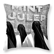 Nun Of That Throw Pillow