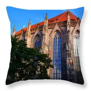 Nuremberg Cathedral Throw Pillow