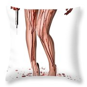 Nurse Help Throw Pillow by Jt PhotoDesign