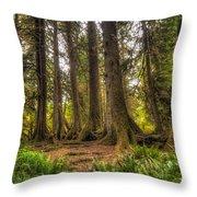 Nursery Log Throw Pillow