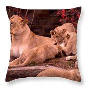 Nurturing Throw Pillow