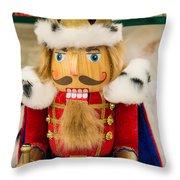 Nutcracker Prince Throw Pillow