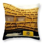 Nutmobile Throw Pillow