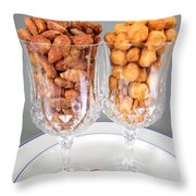 Nutty For Nuts Throw Pillow