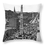 Ny Celebration Of St. Paulino  Throw Pillow