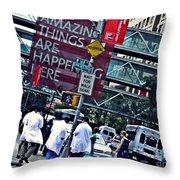 Ny Presbyterian Hospital Throw Pillow