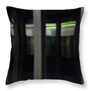 Ny Subway Brooklyn Throw Pillow