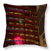 Nyc Collage Throw Pillow