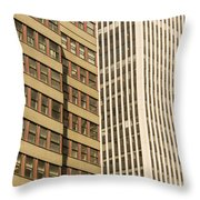 Nyc Highrises Throw Pillow