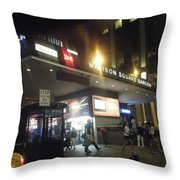 As The Night Begins Throw Pillow