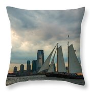 Nyc Pirates Throw Pillow