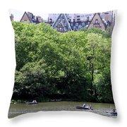 Nyc Urban Oasis Throw Pillow