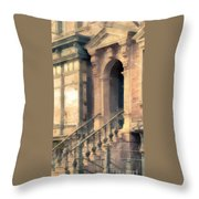 Nyc Walkup Phone Case Aspect Throw Pillow