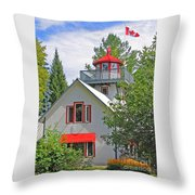 O Canada Throw Pillow