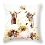 O Divine Mercy Throw Pillow