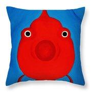 O Fish Throw Pillow