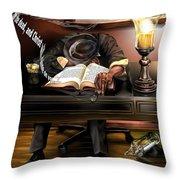 O Sleeper Throw Pillow