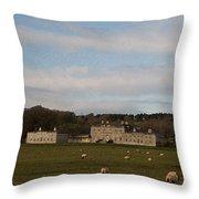 'o So Peaceful' Throw Pillow