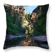 Oak Creek Canyon Throw Pillow