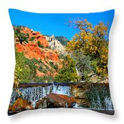 Oak Creek Cascade Throw Pillow
