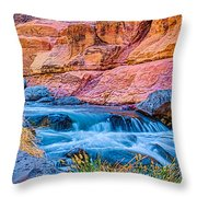 Oak Creek In The Spring Throw Pillow