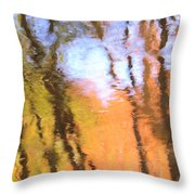 Oak Creek Reflections Throw Pillow