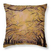 Oak Grove Throw Pillow