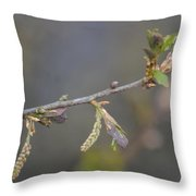 Oak Sway Throw Pillow